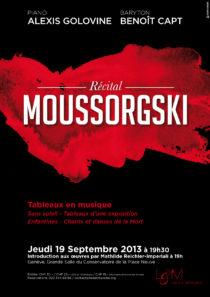 Affiche Recital Lied & Melodie 19 septembre 2013