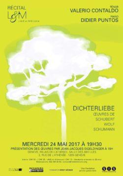 Recital Dichterliebe - 24 mai 2017