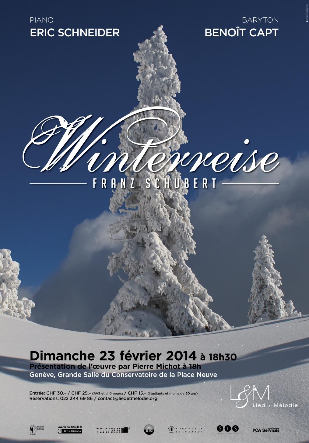 Recital Winterreise - Liedetmelodie - 23.02.14