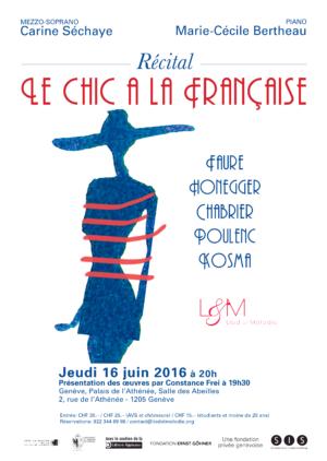 Recital Lied-et-Melodie - 16 juin 2016 - Genève