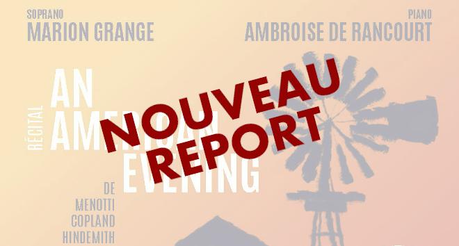 Nouveau report
