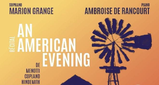 Récital An American Evening