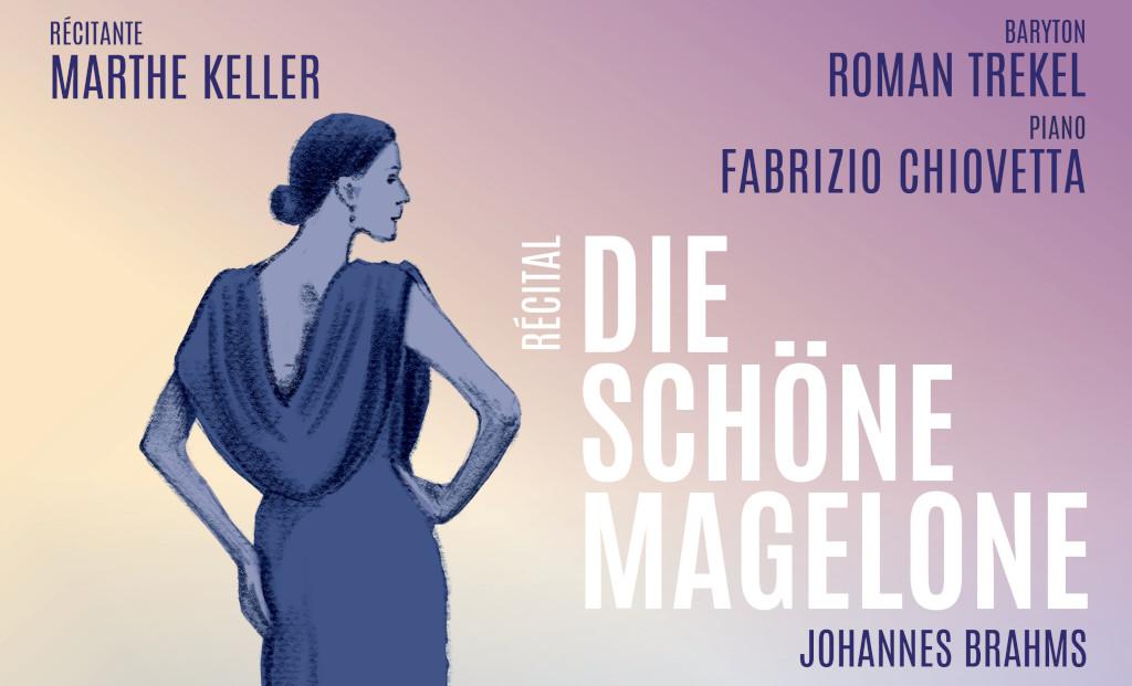 annonce récital Die schöne Magelone