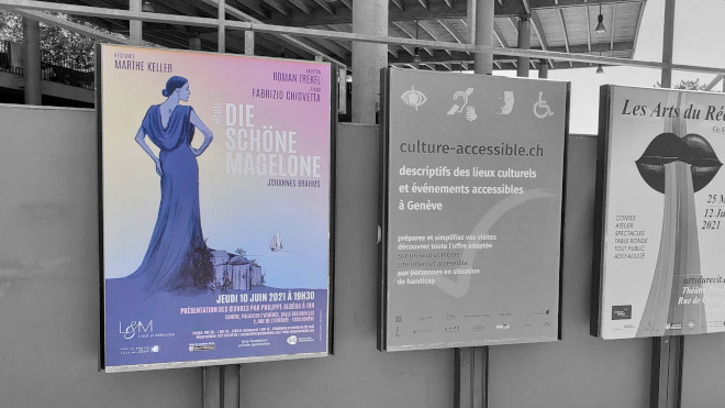 Affiche du récital Die schöne Magelone